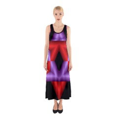 Star Of David Sleeveless Maxi Dress