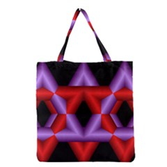 Star Of David Grocery Tote Bag