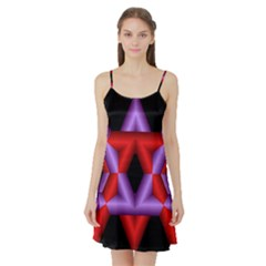 Star Of David Satin Night Slip