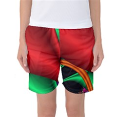 Fractal Construction Women s Basketball Shorts