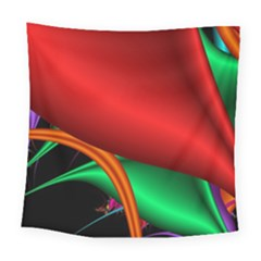 Fractal Construction Square Tapestry (large)