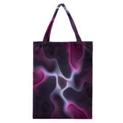 Colorful Fractal Background Classic Tote Bag