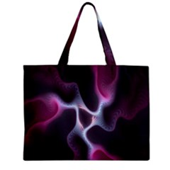 Colorful Fractal Background Zipper Mini Tote Bag