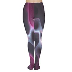 Colorful Fractal Background Women s Tights