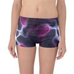 Colorful Fractal Background Reversible Bikini Bottoms