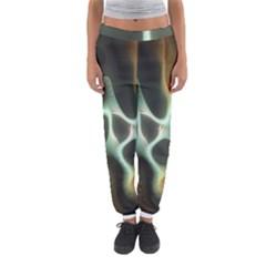 Colorful Fractal Background Women s Jogger Sweatpants