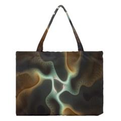 Colorful Fractal Background Medium Tote Bag