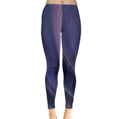 Purple Fractal Leggings
