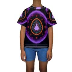 Hypocloid Kids  Short Sleeve Swimwear