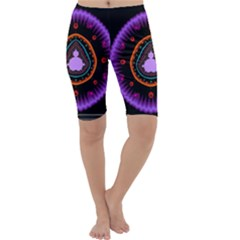 Hypocloid Cropped Leggings