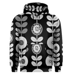 Floral Pattern Seamless Background Men s Pullover Hoodie