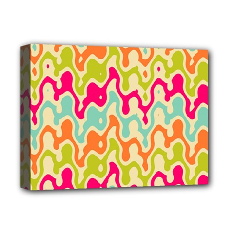 Abstract Pattern Colorful Wallpaper Deluxe Canvas 16  x 12
