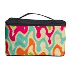 Abstract Pattern Colorful Wallpaper Cosmetic Storage Case