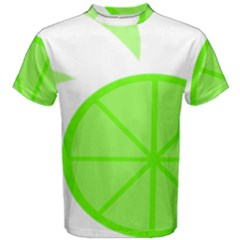 Fruit Lime Green Men s Cotton Tee