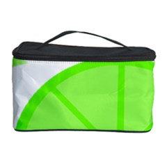 Fruit Lime Green Cosmetic Storage Case