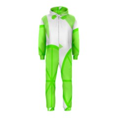 Fruit Lime Green Hooded Jumpsuit (Kids)