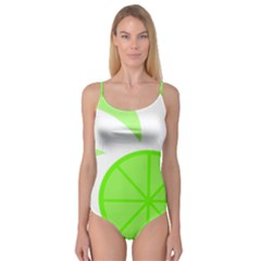 Fruit Lime Green Camisole Leotard