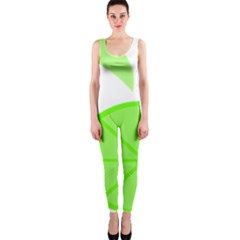 Fruit Lime Green OnePiece Catsuit