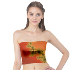 Decorative Fractal Spiral Tube Top