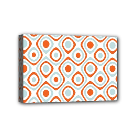 Pattern Background Abstract Mini Canvas 6  x 4