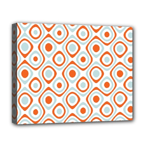 Pattern Background Abstract Deluxe Canvas 20  x 16