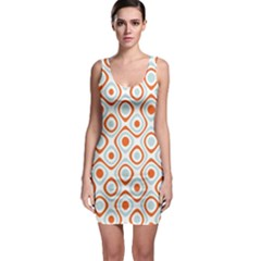 Pattern Background Abstract Sleeveless Bodycon Dress