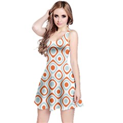 Pattern Background Abstract Reversible Sleeveless Dress