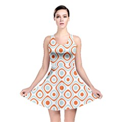 Pattern Background Abstract Reversible Skater Dress