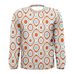 Pattern Background Abstract Men s Long Sleeve Tee