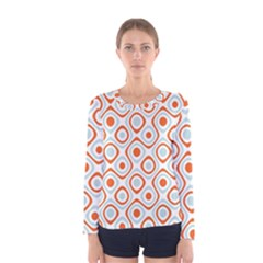 Pattern Background Abstract Women s Long Sleeve Tee
