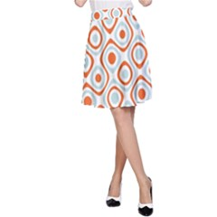 Pattern Background Abstract A-Line Skirt