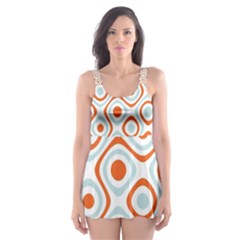 Pattern Background Abstract Skater Dress Swimsuit