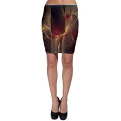 Fractal Image Bodycon Skirt