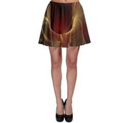 Fractal Image Skater Skirt