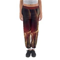 Fractal Image Women s Jogger Sweatpants