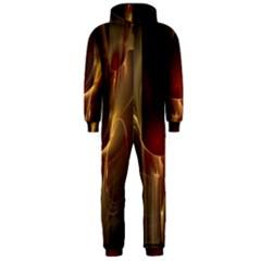 Fractal Image Hooded Jumpsuit (Men)