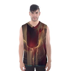 Fractal Image Men s Basketball Tank Top