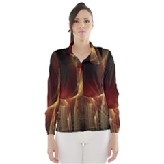 Fractal Image Wind Breaker (women)
