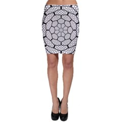 Grillage Bodycon Skirt