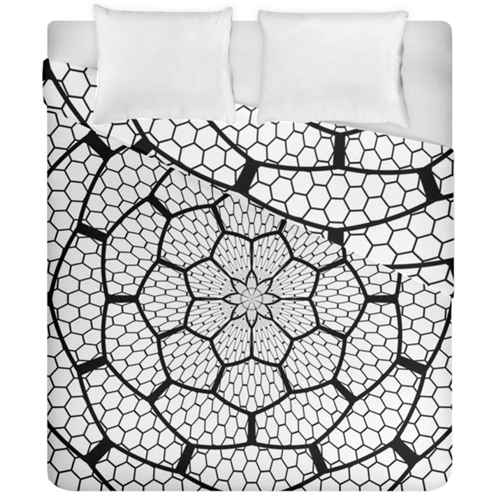 Grillage Duvet Cover Double Side (California King Size)