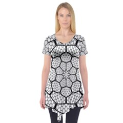 Grillage Short Sleeve Tunic