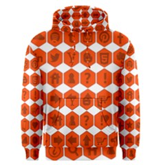 Icon Library Web Icons Internet Social Networks Men s Pullover Hoodie