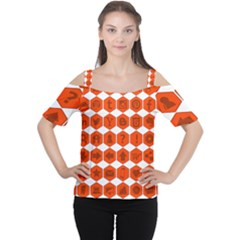 Icon Library Web Icons Internet Social Networks Women s Cutout Shoulder Tee