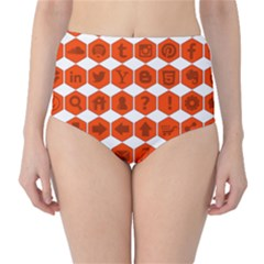 Icon Library Web Icons Internet Social Networks High Waist Bikini Bottoms