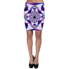 Ring Segments Bodycon Skirt