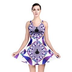Ring Segments Reversible Skater Dress