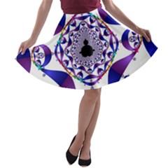 Ring Segments A Line Skater Skirt