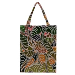 Floral Pattern Background Classic Tote Bag
