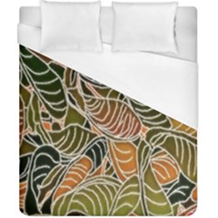 Floral Pattern Background Duvet Cover (california King Size)