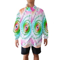 Decorative Fractal Spiral Wind Breaker (kids)